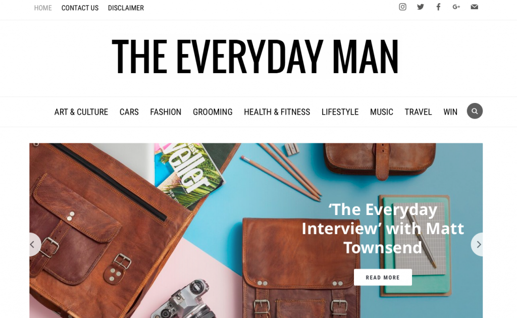 the everyday man blogs