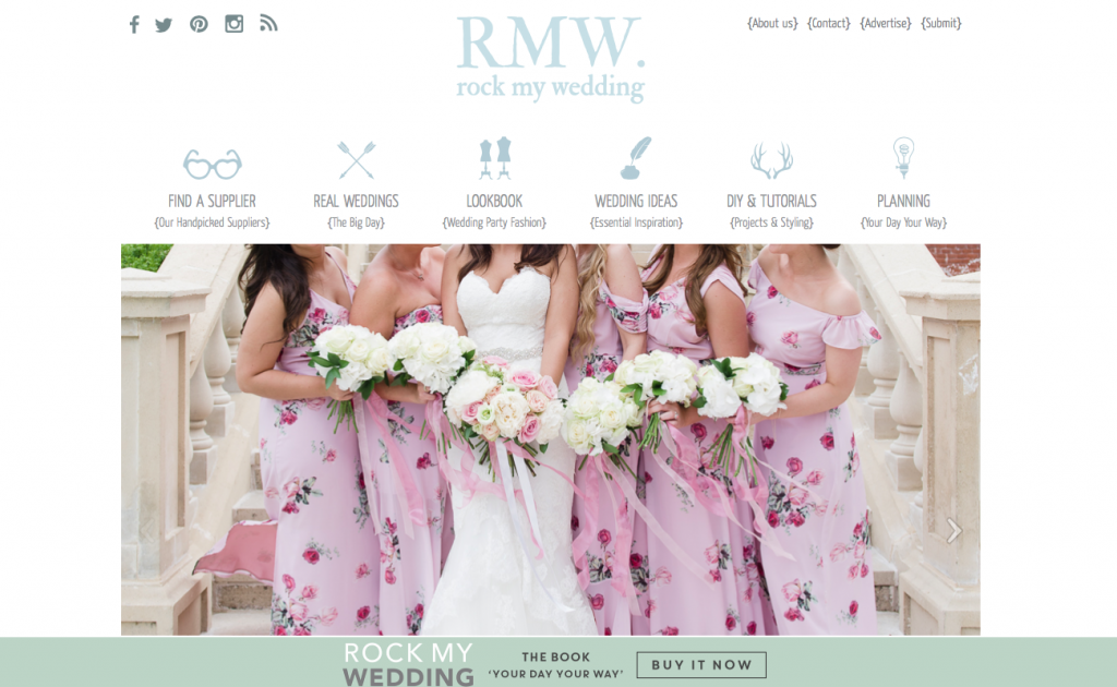 rock my wedding blogs