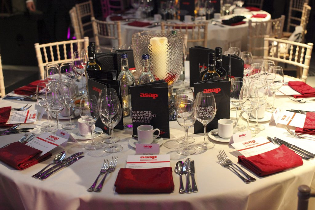 ASAP Gala Dinner Table Decorations