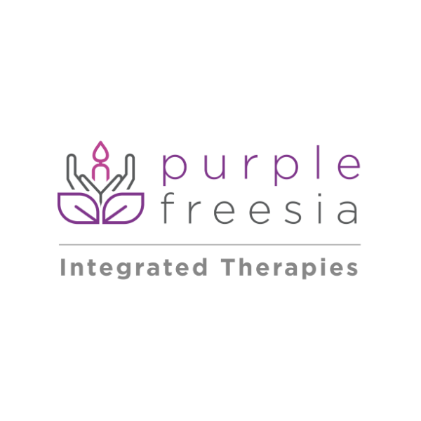 Purple Freesia logo
