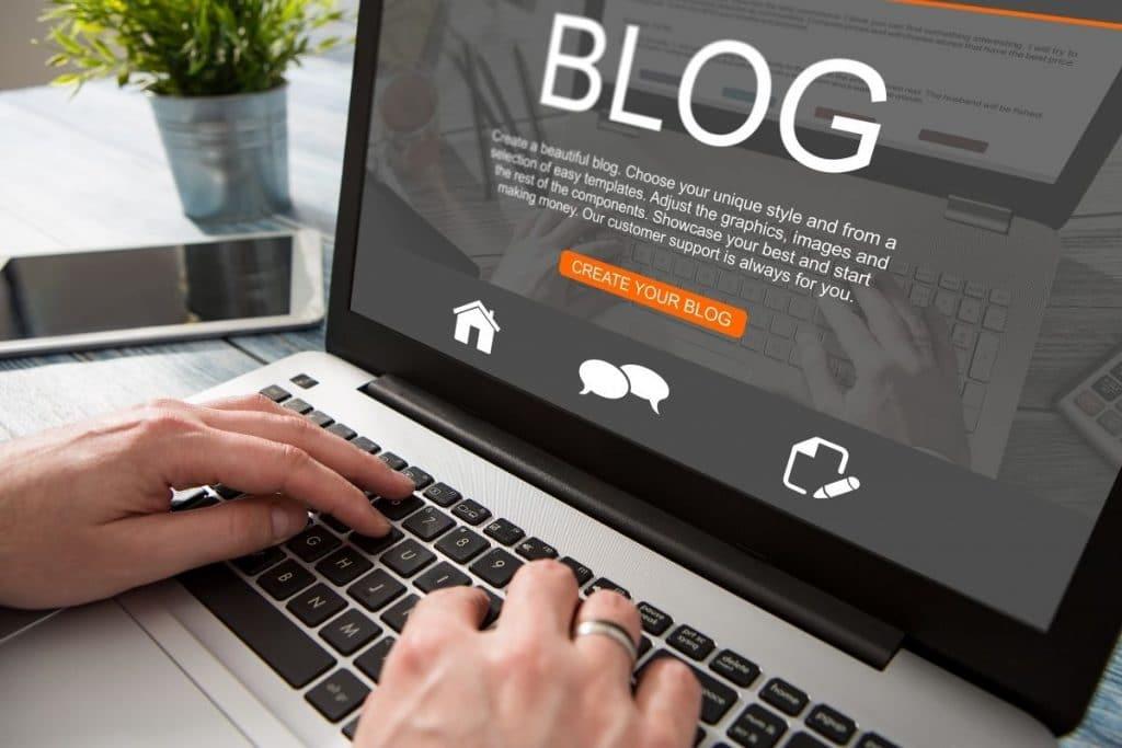 LLM blog - blog for a company